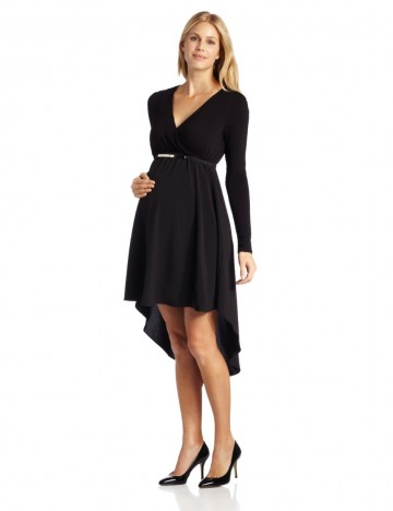 635787c0f051f Maternal America Beautiful Maternity High Low Dress With Belt For Women.  Price - $129