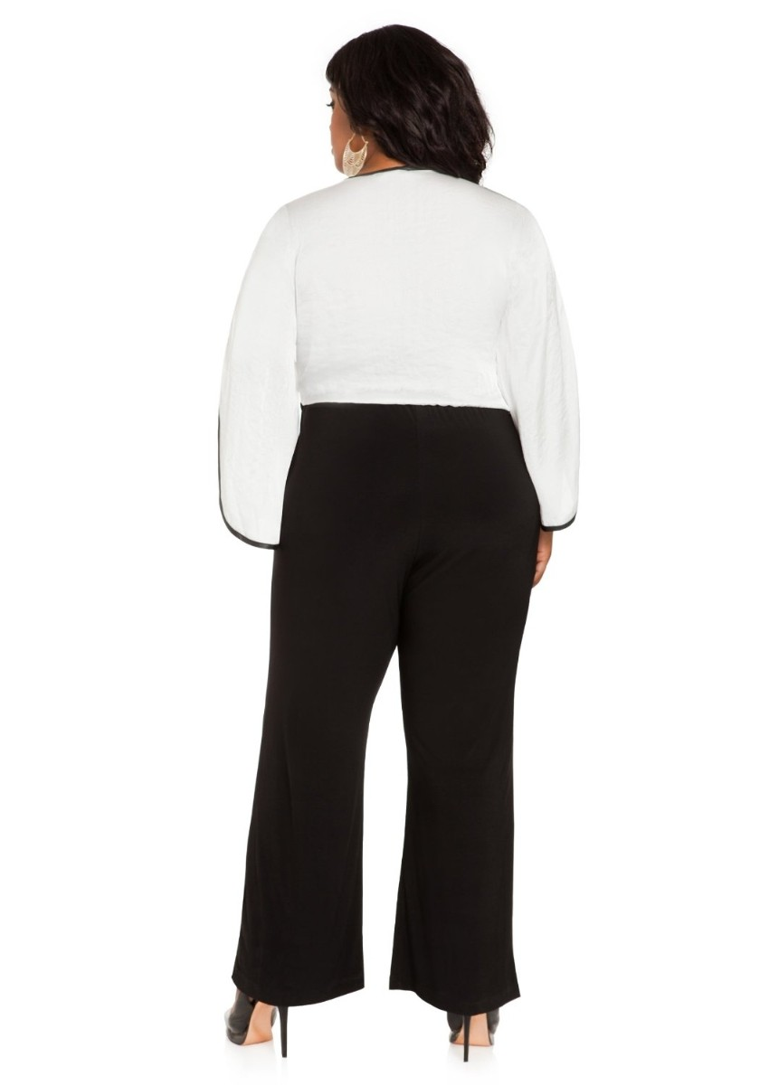 29192c9da8676 Ashley Stewart Women s Plus Size Color Block Jumpsuit. Price -  41.65