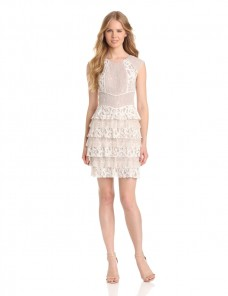 Adrianna Papell Cap Sleeve Beaded Dress For Women Price