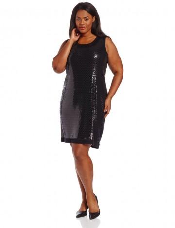 Calvin Klein - Plus-Size Shine Sweater Dress For Women