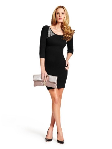 c33c99421b GUESS by Marciano Women s Bretina Half-length Sleeves Sweater Dress ...