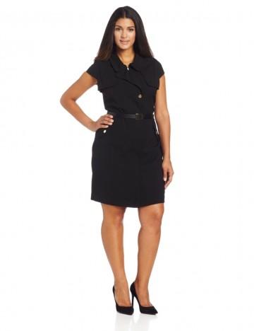 Calvin Klein - Cap Sleeve Dress With Pocket Detail For Women