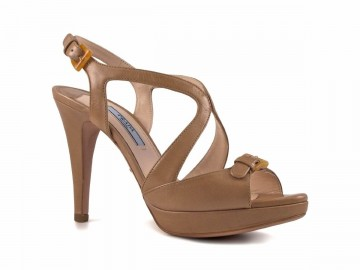 Prada - Calf Leather Sandals with Platform For Women