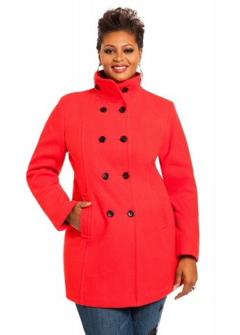 Ashley Stewart Women's Plus Size Wool Coat. Price - $83.65