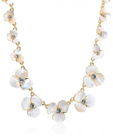 "Kate Spade New York ""Disco Pansy"" Single Strand Short Necklace, 16"" For Women"